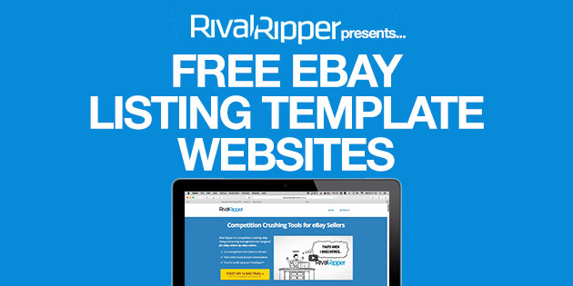 Free EBay Listing Template Websites - Ebay website template