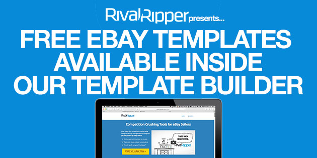 Free EBay Listing Templates Available Inside Our Template Builder - Ebay listing templates