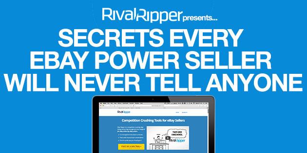 SECRETS EVERY EBAY POWER SELLER WILL NEVER TELL ANYONE